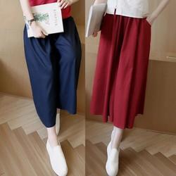 set áo lửng+ quần váy xoè