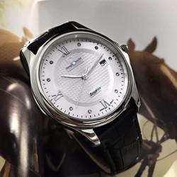 Đồng hồ dây da nam đep tại hcm OM88094-M02