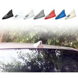 Ăng ten vây cá xe hơi ô tô 8 đèn led pin mặt trời