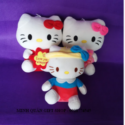 MÈO BÔNG HELLO KITTY 30CM