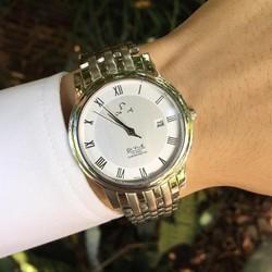 Đồng hồ thời trang nam vạch số la mã 1 lịch