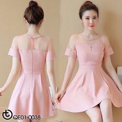 Đầm xoè nhẹ nhàng đơn giản rẻ