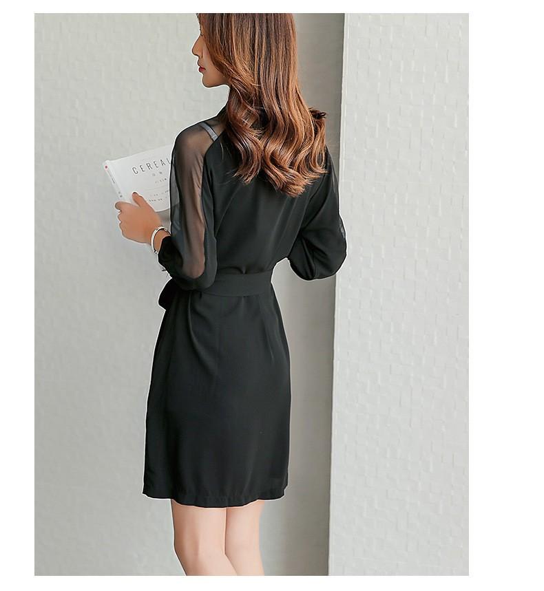 Đầm suông sơ mi phong cách TB0459 6