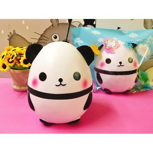 Squishy trứng Panda jumbo chậm tăng