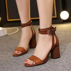 giày cao got hở mủi nữ cực đẹp