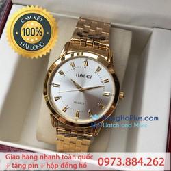 Đồng hồ nam giá rẻ Halei thời trang bảo hành 12 tháng