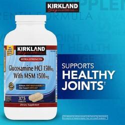 Viên uống bổ khớp Glucosamine HCL 1500mg with MSM 1500mg