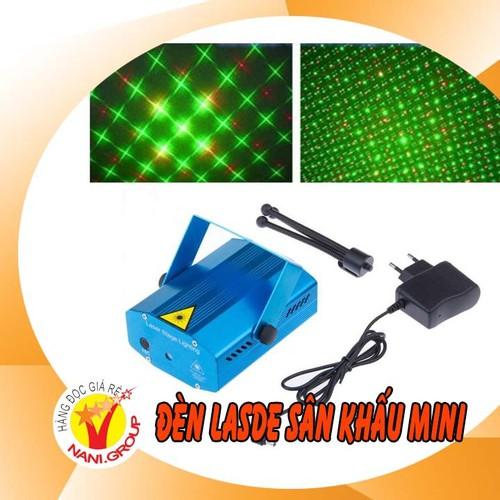 Đèn laser sân khấu mini