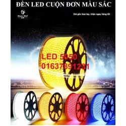 Đèn LED dây 5050 cuộn 100m 220v_Có giá sỉ_KM