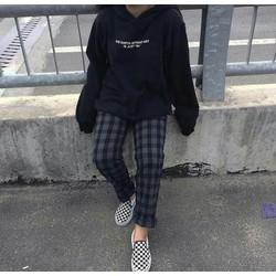 quần sọc caro