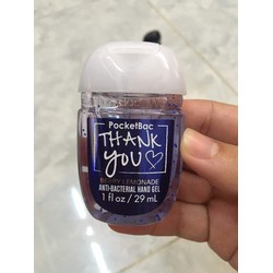 Gel Rửa Tay Khô USA Bath And Bodyworks Thank You Berry Lemonade 29ml
