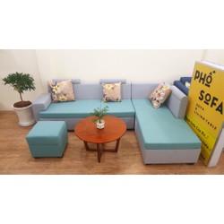 sofa phòng khách góc L rẻ đẹp giá tốt nhất tại xưởng sản xuất