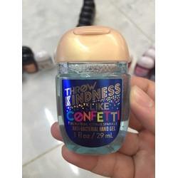 Gel Rửa Tay Khô USA Bath And Bodyworks Throw Kindness Confetti 29ml