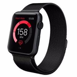 Dây Apple Watch, dây đeo apple watch 42mm thép không gỉ lưới