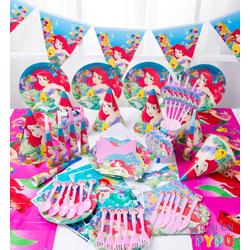 Bộ phụ kiện trang trí sinh nhật cho bé - Bộ Nàng tiên cá