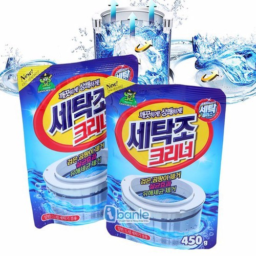 Bột tẩy vệ sinh lồng máy giặt sandokkaebi 450g - 4966709 , 8122916 , 15_8122916 , 35000 , Bot-tay-ve-sinh-long-may-giat-sandokkaebi-450g-15_8122916 , sendo.vn , Bột tẩy vệ sinh lồng máy giặt sandokkaebi 450g