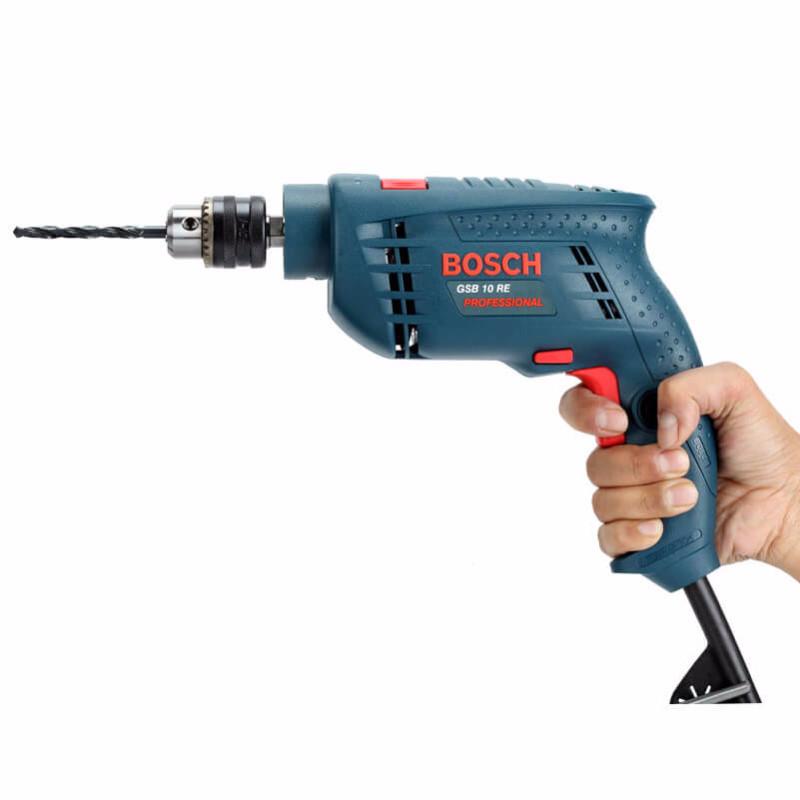 Máy khoan động lực Bosch GSB 10RE kèm 100 chi tiết 2