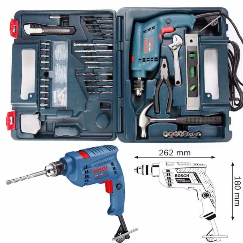 Máy khoan động lực Bosch GSB 10RE kèm 100 chi tiết 3