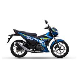 Xe máy côn tay Suzuki Raider FI phiên bản xanh GP