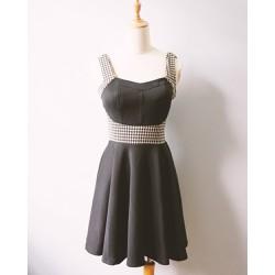 Đầm thun nữ cúp ngực nữ tính-1347-Hàng sale
