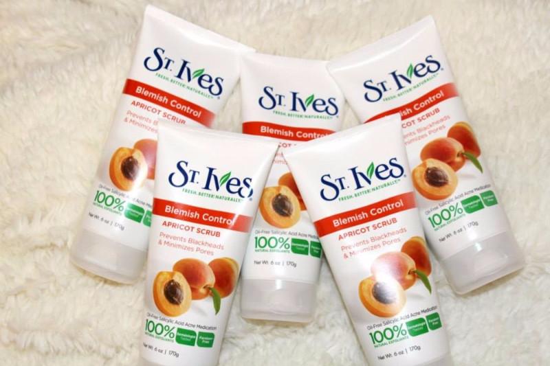 Sữa Rửa Mặt Tẩy Tế Bào Chết St.Ives Apricot Scrub 3