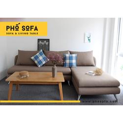 Ghế sofa phòng khách góc L giá rẻ tại xưởng sản xuất