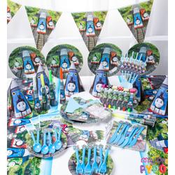 Bộ phụ kiện trang trí sinh nhật cho bé - Bộ Thomas