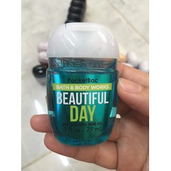 Gel Rửa Tay Khô USA Bath And Bodyworks Beautiful Day 29ml