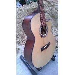 Guitar Gỗ Hồng Đào Nguyên Tấm HD78
