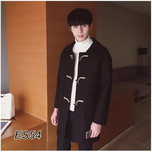 áo khoác dạ nam khuy gỗ Es54