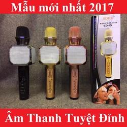 Micro Kiêm Loa Bluetooth SD 10 Gold Hay Nhất Mới Nhất 2017