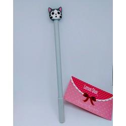 Bút Bi Mèo Chi - COMBO 4 CÂY