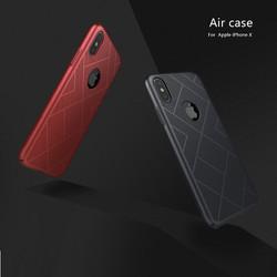 ỐP LƯNG IPHONE X NILLKIN AIR TẢN NHIỆT CHÍNH HÃNG