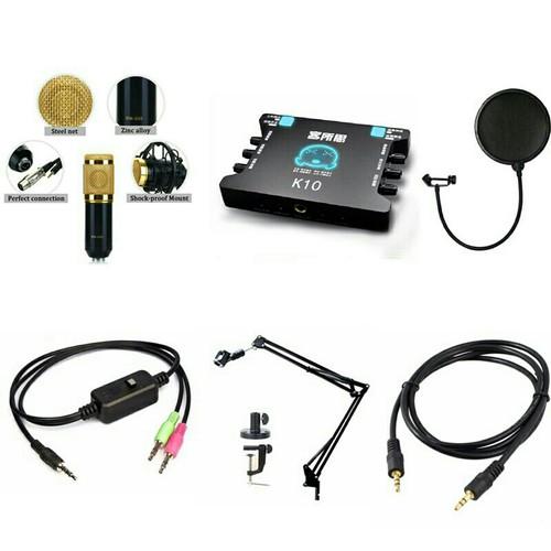 COMBO trọn bộ Micro BM900 sound card K10 Dây live stream chân kẹp - 4243772 , 10417921 , 15_10417921 , 1149000 , COMBO-tron-bo-Micro-BM900-sound-card-K10-Day-live-stream-chan-kep-15_10417921 , sendo.vn , COMBO trọn bộ Micro BM900 sound card K10 Dây live stream chân kẹp