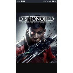 dishonored death of the ousider pc đĩa chép