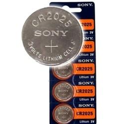 Pin CR2025 lithium 3V Sony Vỉ 5 viên