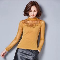 Áo ren thời trang nữ kiểu Hàn Quốc - giá 330k-MZ3114
