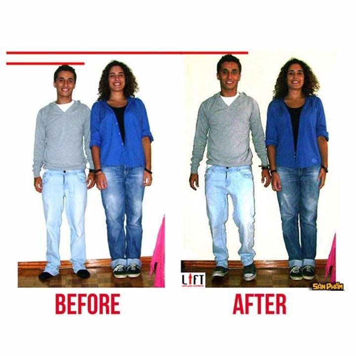 Lót giày tăng chiều cao nguyên bàn 3 lớp cao 7cm - K2288 - Sale hot 2