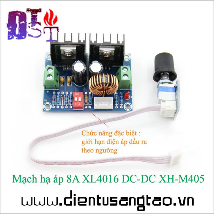 Mạch hạ áp 8A XL4016 DC-DC XH-M405 1