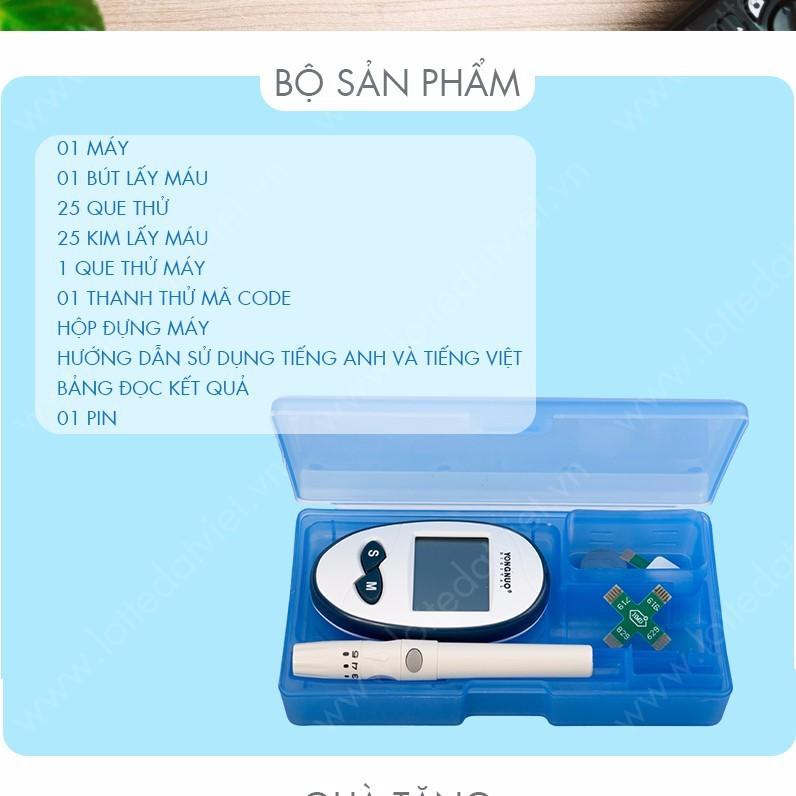 Máy đo đường huyết  YONGNOU-0965.011.567 3