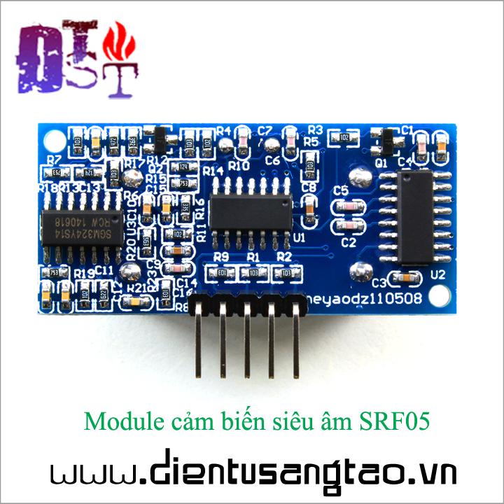 Module cảm biến siêu âm SRF05 2