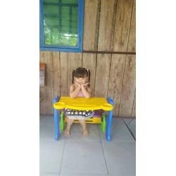 bộ bàn ghế 3in1