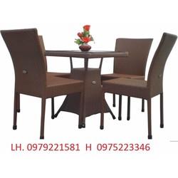 bàn ghế nhà hàng cafe mẫu mã đa dạng