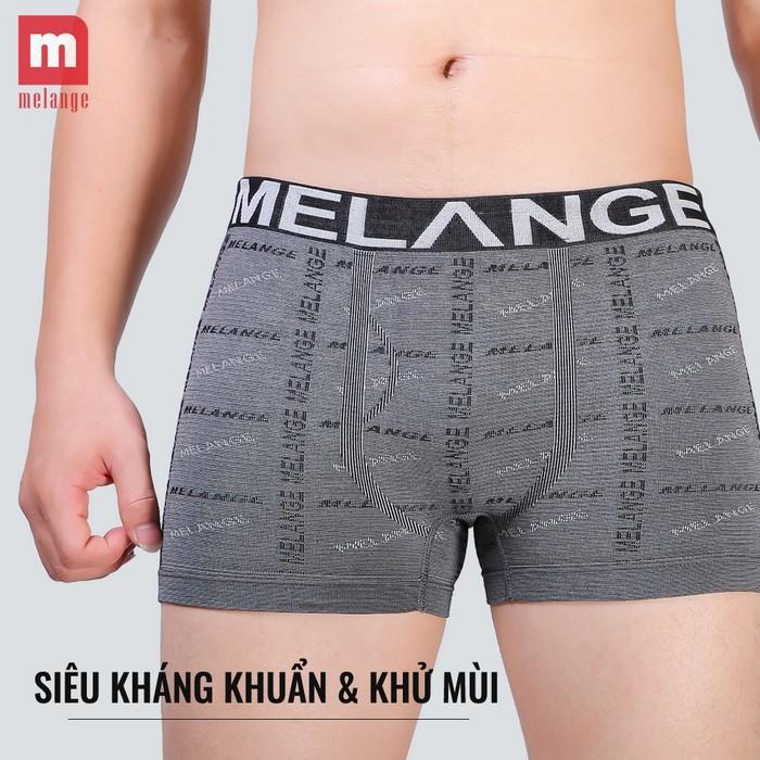 Quần boxer nam chất liệu Bamboo MB.22.02 - Hàng chính hãng Melange 5