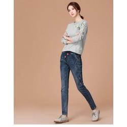 quần jean lưng thun cao cấp TB0474