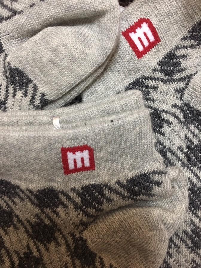 Tất cotton nữ cổ ngắn Melange MC.02.09 - Tất cổ ngắn 5k 1