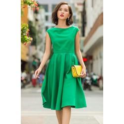 Đầm xòe dạo phố xinh xắn