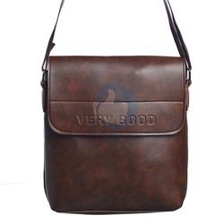 Túi đeo chéo nam đựng ipad Verygood MS2 - màu nâu