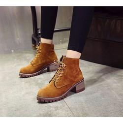 Giày Boots nữ hot xu hướng mới - Phong cách HQ