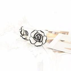 Bông tai nụ hoa hồng thời trang giá rẻ đẹp chất
